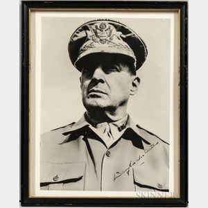 MacArthur, General Douglas A. (1880-1964) Signed Photograph.