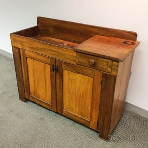 Country Maple Dry Sink