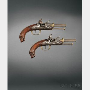 Pair of French Belt Pistols