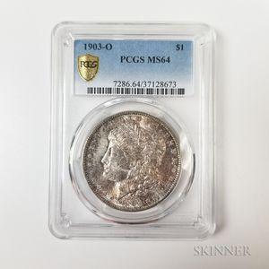 1903-O Morgan Dollar, PCGS MS64.