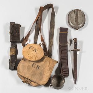 Group of Spanish American War-related Items