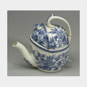 Wedgwood Pearlware SYP Teapot and Cover