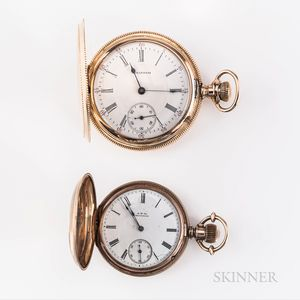 Two American Watch Co. Gold Hunter-case Watches