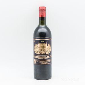Chateau Palmer 1978, 1 bottle