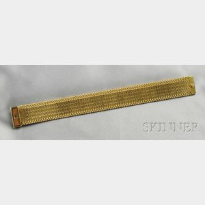 18kt Gold Bracelet,