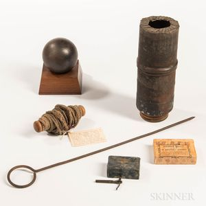 Civil War-era Artillery Rounds and Related Items