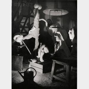 Gyula Halász, called Brassaï (Hungarian/French, 1899-1984)      Picasso's Studio, Boisgeloup