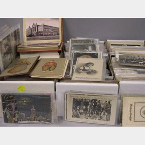 Collection of European and Canadian Postcards