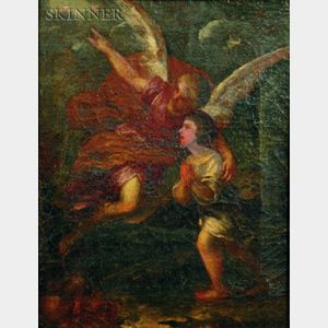 After Pietro da Cortona (Italian, 1596-1669)    The Guardian Angel