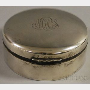 Birks Sterling Velvet-lined Jewelry Box