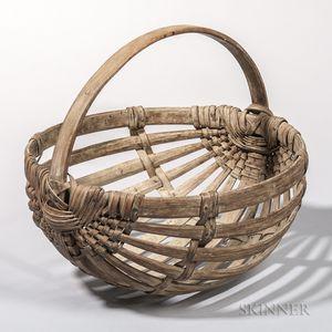 Ash Splint Potato Basket