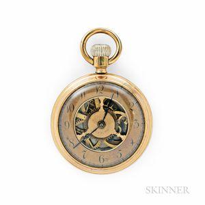 Benedict & Burnham Mfg. Co. Three-spoke Long-wind Watch