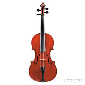 French Violin, Paul Blanchard, Lyon, 1887