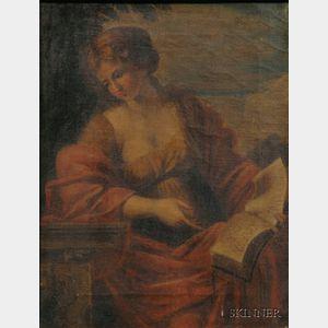 After Giovanni Francesco Romanelli (Italian, 1610-1662)      The Cumaean Sybil.