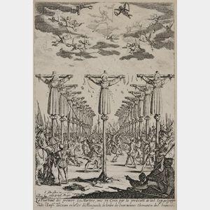 Jacques Callot (French, 1592-1635)      Les martyrs du Japon