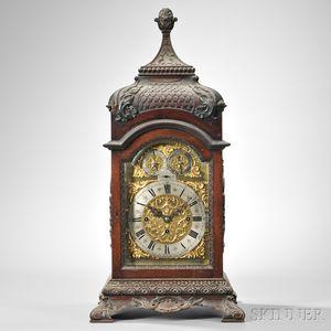 J.E. Caldwell Dual-chime Library Clock