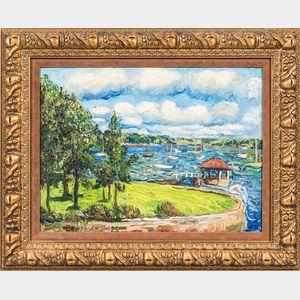 Otto Rothenburgh (American, 1893-1992)      Shoreline View