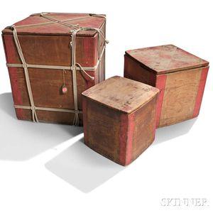 Three Northwest Coast Storage Boxes