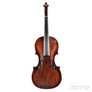 German Violin, Markneukirchen, c. 1770