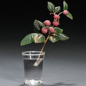 Rock Crystal and Gold Raspberry Plant
