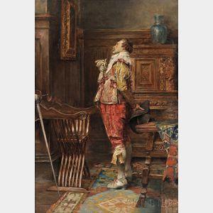 Attributed to Alex de Andreis (Belgian/British, 1880-1929)      Musketeer