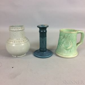 Three Rookwood Pottery Items