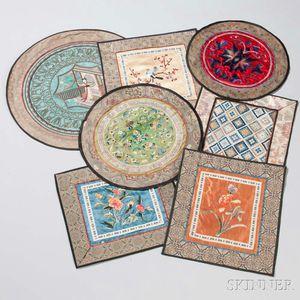 Sixteen Textile Fragments