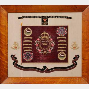 VII Princess Royal's Dragoon Guards Needlework