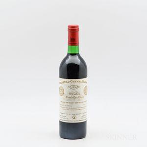 Chateau Cheval Blanc 1976, 1 bottle