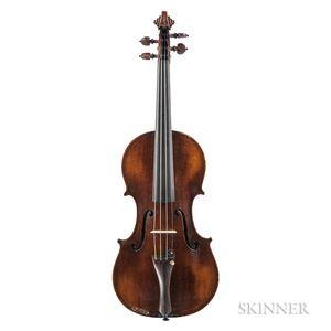 American Violin, Jerome Bonaparte Squier, Boston, 1896