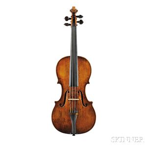 Fine Italian Violin, Dom Nicolaus Amati, Bologna, c. 1740