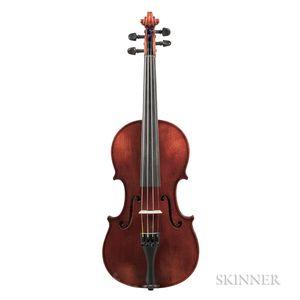 German Three-quarter Size Violin, Clement & Weise, Bubenreuth, 2006