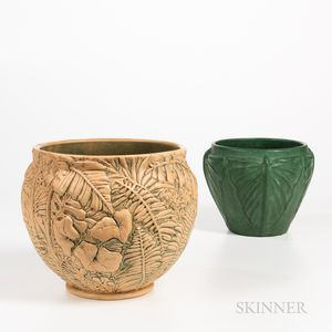 Two Weller Pottery Jardinieres