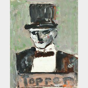 Milton Resnick (American, 1917-2004)      Topper