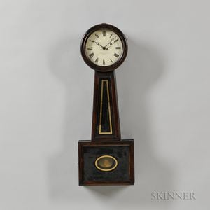 "Howard & Davis No. 5 ""Banjo"" Clock"