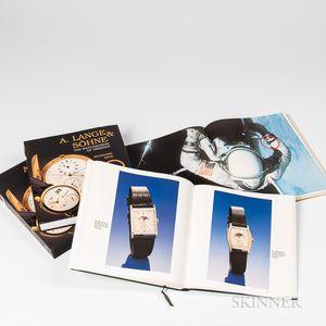 Three Wristwatch Reference Books