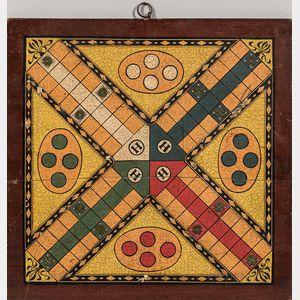 Small Decorated Parcheesi Board