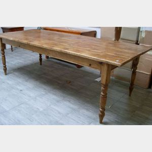 British Country Pine Farmhouse Table