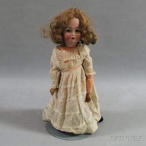 Kammer & Reinhardt/Simon & Halbig Open-mouth Bisque Head Doll
