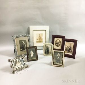 Small Group of Russian Imperial Photographs, Carte-de-Visites, and Postcards.