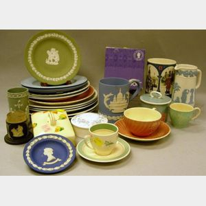 Forty-three Pieces of Assorted Wedgwood and Susie Cooper Table, Teaware, and   Collectibles