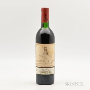 Chateau Latour 1971, 1 bottle