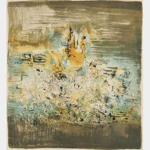 Zao Wou-Ki (Chinese/French, 1921-2013)      Untitled