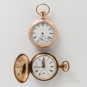 Two E. Howard & Co. Gold-filled Watches