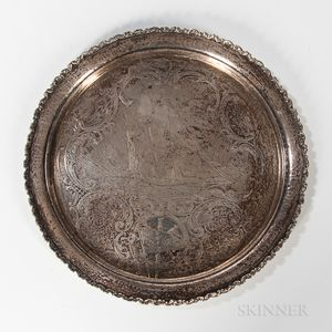 Marblehead Yachting Trophy Plate