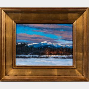 Louis Guarnaccia (American, b. 1958)      Mount Washington from Conway, New Hampshire