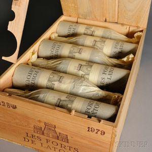 Chateau Les Forts de Latour 1979, 12 bottles (owc)