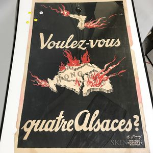Color Lithograph Poster