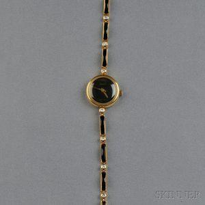 18kt Gold Wristwatch, Alexis Barthelay, Retailed by Van Cleef & Arpels