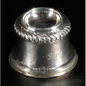 Sold for: $65,175 - Silver Trencher Salt